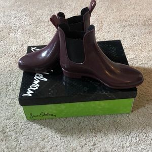 NEW! Sam Edelman Chelsea Rain Boot | SangriaPurple